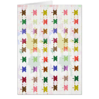 Babysoft Butterfly Patterns for Adults Greeting Card