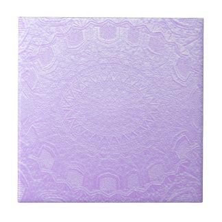 Babysoft Engraved Look Purple Tile