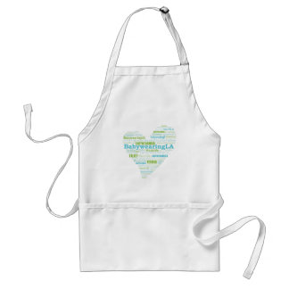 Babywearing LA Heart Logo Standard Apron