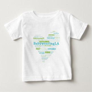 BabywearingLA Heart Logo Baby T-Shirt