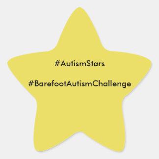 BAC Autism Stars Star Sticker
