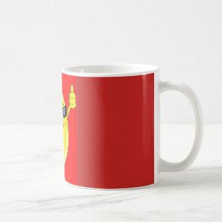 bacana banana coffee mug