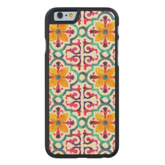 Bacardi Spanish Tile Carved® Maple iPhone 6 Case