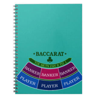 Baccarat 3 notebooks