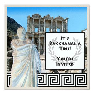 Bacchanalia Time Card