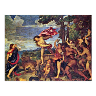 """Bacchus And Ariadne """" By Tizian (Best Quality) Postcard"""