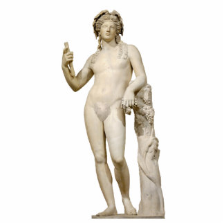 Bacchus and Grape Vine Sculpture Standing Photo Sculpture