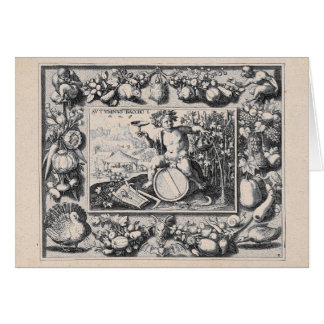 Bacchus / Dionysus God of Wine Card