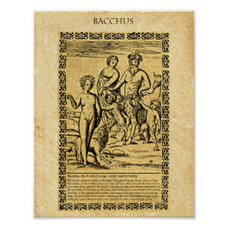 BACCHUS POSTER