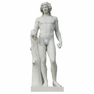 Bacchus Sculpture Standing Photo Sculpture