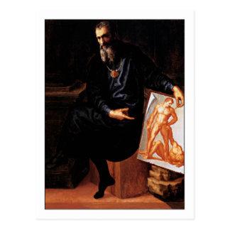 Baccio Bandinelli Self Portrait Postcard
