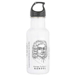 Bach Beethoven Handel: Face the Music 532 Ml Water Bottle