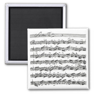Bach Cello Suite Magnet