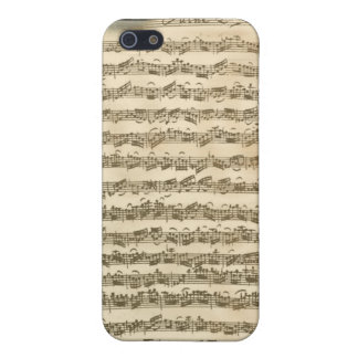Bach Cello Suite Manuscript iPhone 4 Case