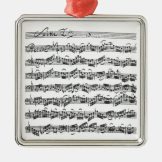 Bach Cello Suite Pendant Ornament