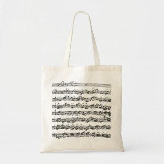 Bach Cello Suite Tote Bag
