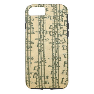 Bach Chaconne Manuscript for Solo Violin iPhone 7 Case