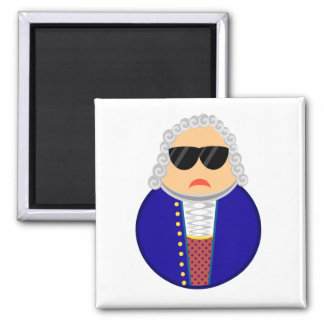 Bach Classical Music Composer Funny Gift Magnet