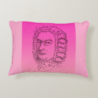 Bach: Face the Music Decorative Pillow