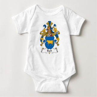 Bach Family Crest Baby Bodysuit