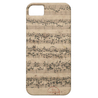 Bach Manuscript iPhone 5 Case