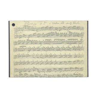 Bach Partita Music Manuscript for Solo Violin iPad Mini Case