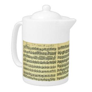Bach Partita Teapot