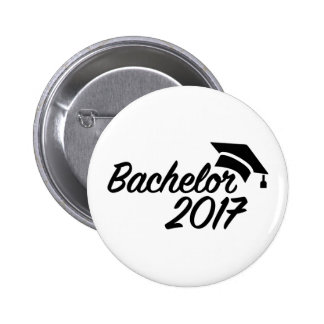 Bachelor 2017 2 inch round button