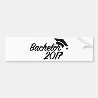 Bachelor 2017 bumper sticker