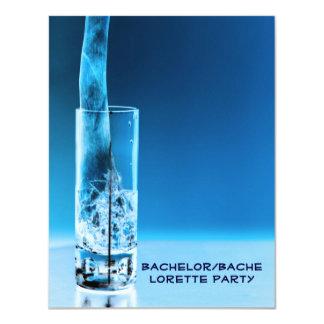 "Bachelor Bachelorette Party 4.25"" X 5.5"" Invitation Card"