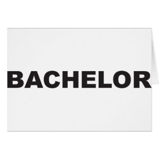 bachelor cards