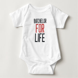 Bachelor for life baby bodysuit