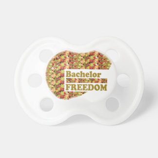 BACHELOR FREEDOM : Ideal Gift for ENGAGEMENT Baby Pacifier
