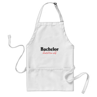 Bachelor Limited Time Only Adult Apron