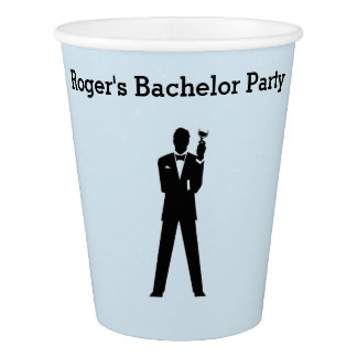 Bachelor or Engagement Party Paper Cups