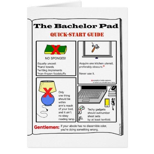 Bachelor Pad: cards