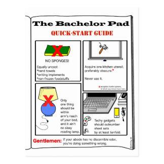Bachelor Pad: postcards