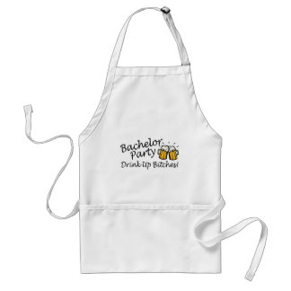 Bachelor Party Beer Jugs Adult Apron