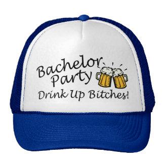 Bachelor Party Beer Jugs Mesh Hats