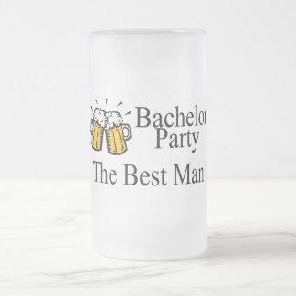 Bachelor Party Best Man Beer Jugs Coffee Mug