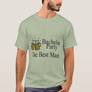 Bachelor Party Best Man Wedding T-Shirt