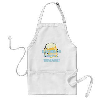 Bachelor Party Beware T-shirts and Gifts Standard Apron