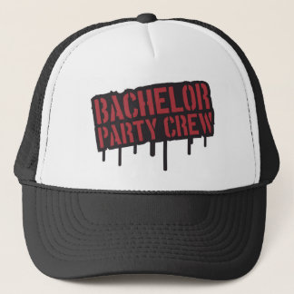 """Bachelor Party Crew"" Trucker Hat"