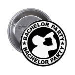 Bachelor Party drinking 2 Inch Round Button