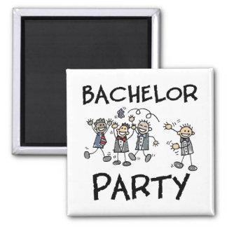 Bachelor Party Fridge Magnets