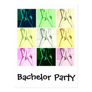 Bachelor Party Gifts Postcard