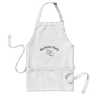 Bachelor Party Handcuffs Aprons