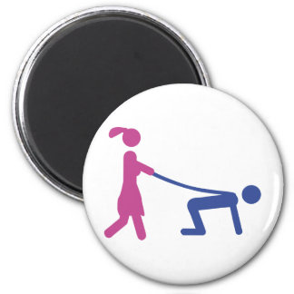 bachelor party icon 2 inch round magnet