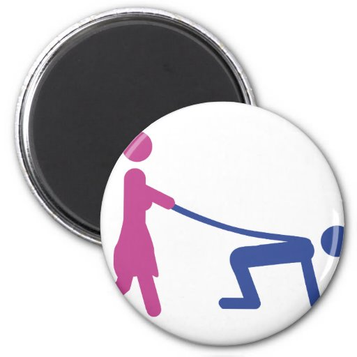 bachelor party icon fridge magnet