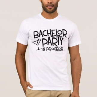 Bachelor Party in Progress T-Shirt